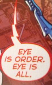 Eye is Order