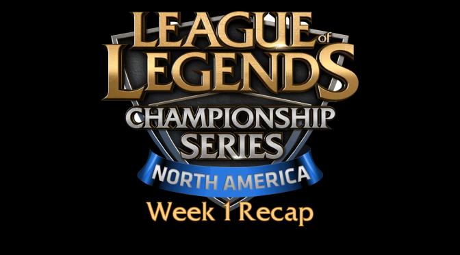 NA LCS Summer Split Week 1 Recap