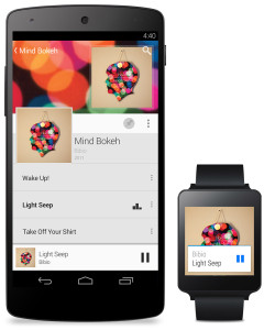 Tinder + Android Wear
