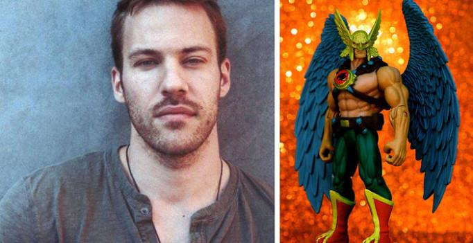 Falk Hentschel cast as Hawkman.