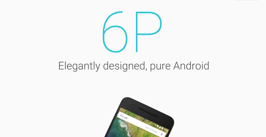 via Official Google Nexus 6P page