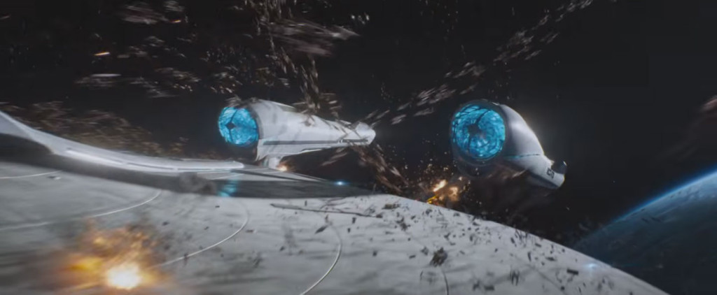 Screen capture from Star Trek Beyond trailer on YouTube