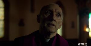 Father Lantham Offers Guidance to Matt