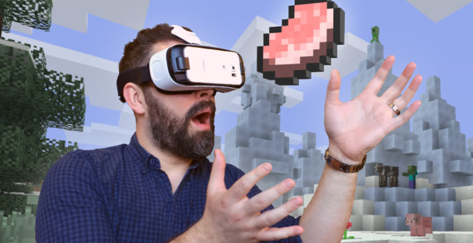 Graphic via Mojang.com Minecraft Gear Vr Edition page