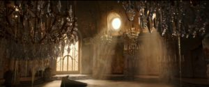 The inside of the Beast's castle before it decays - Beauty and the Beast