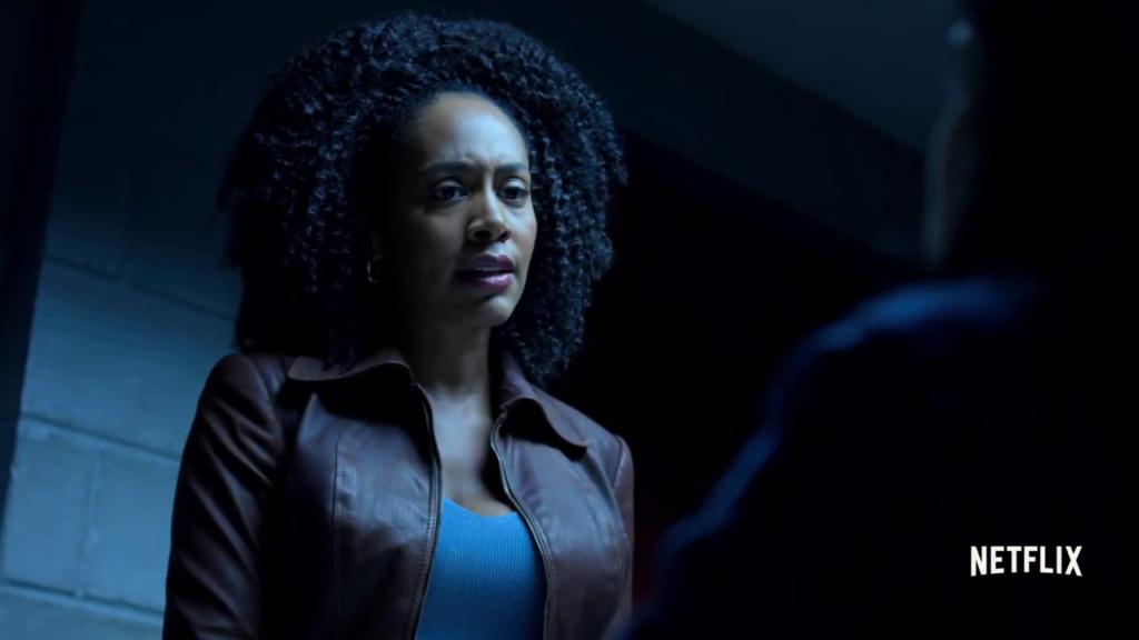 Misty Knight, Jessica Jones - Defenders Trailer