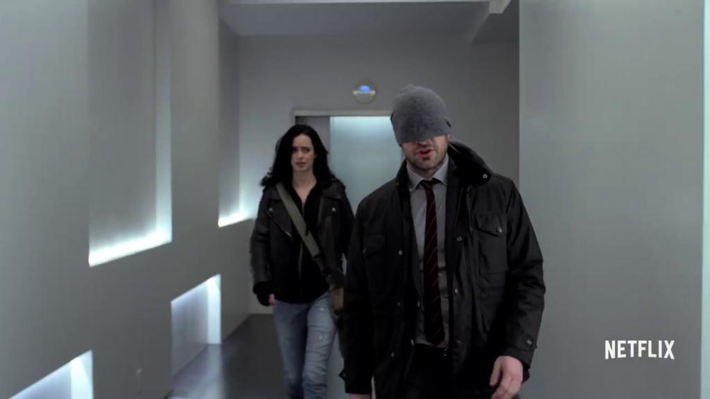 Jessica Jones, Daredevil - The Defenders trailer