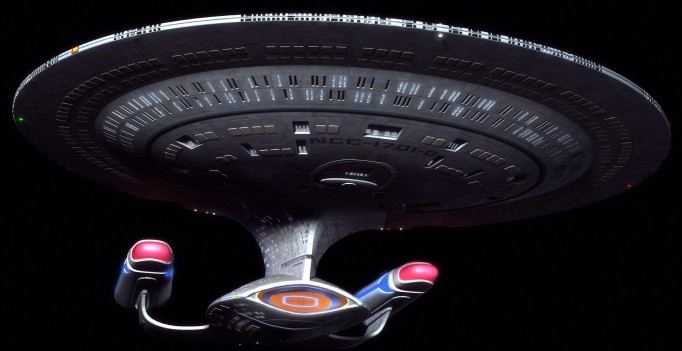 Screenshot from the TV series Star Trek: The Next Generation
