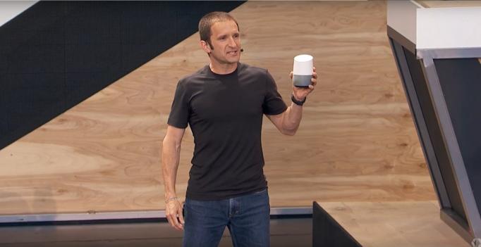 Google Home via Google I/O Keynote on YouTube