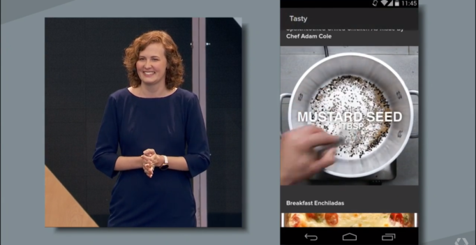 Screenshot via Google I/O 2016 Keynote Instant Apps