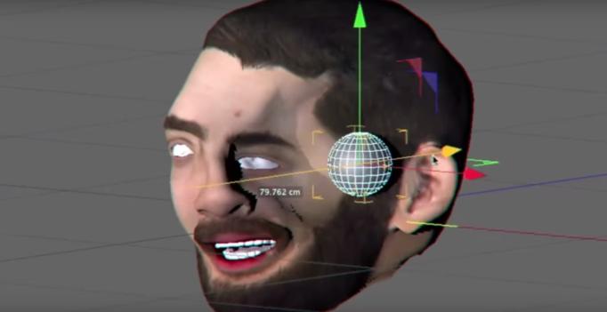 Alan Resnick CGI test