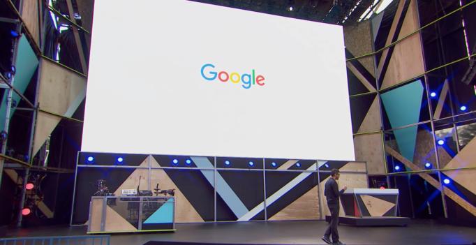 Screen shot from Google I/O Livestream via YouTube - Google Assistant