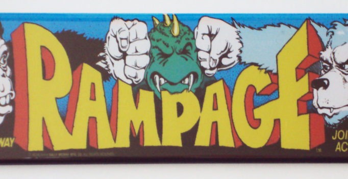 Rampage game screen